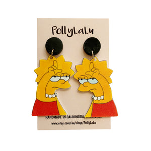 Pollylalu Lisa Simpson dangles