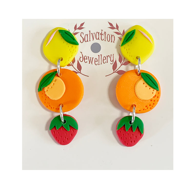 Salvation trio fruit drops | yellow/orange/red
