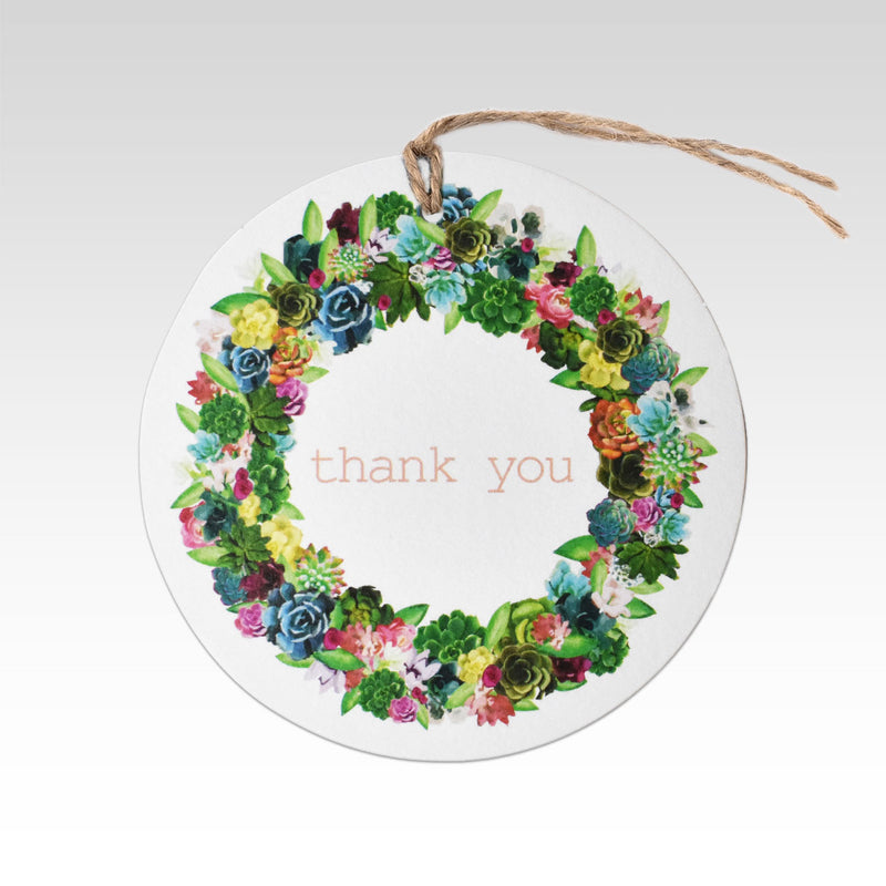 Rhicreative Thank You Gift Tag