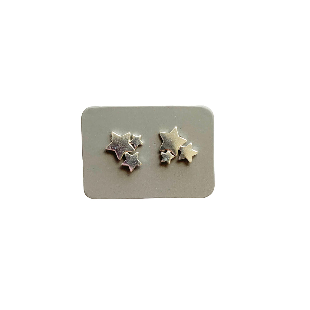 TID mini trio star studs