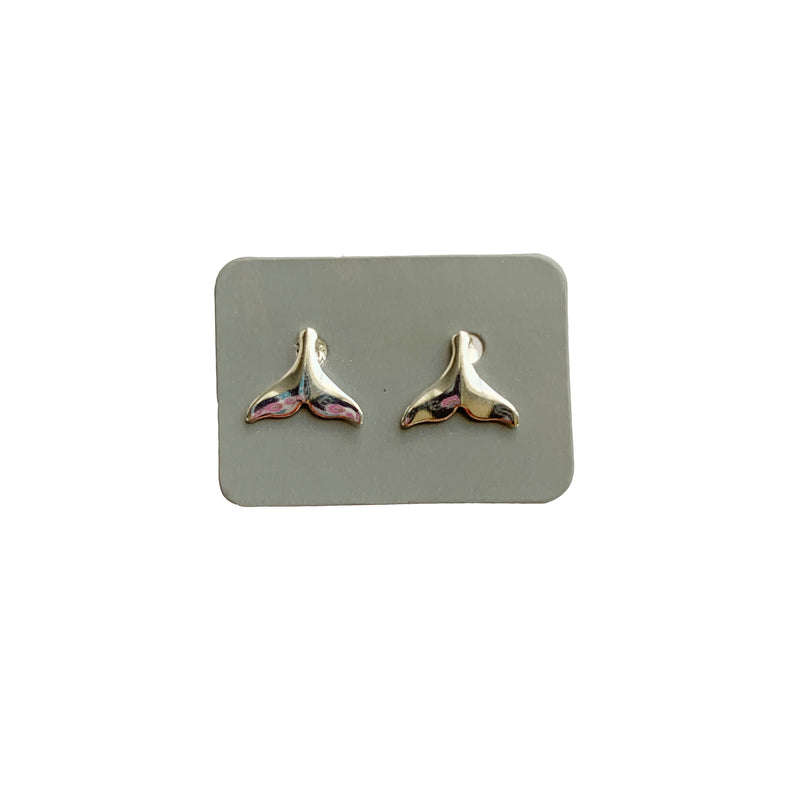 TID whale tail studs