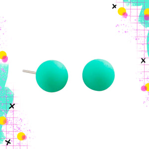 Tiger Tree Mint Ball Studs