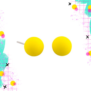 Tiger Tree Yellow Ball Studs