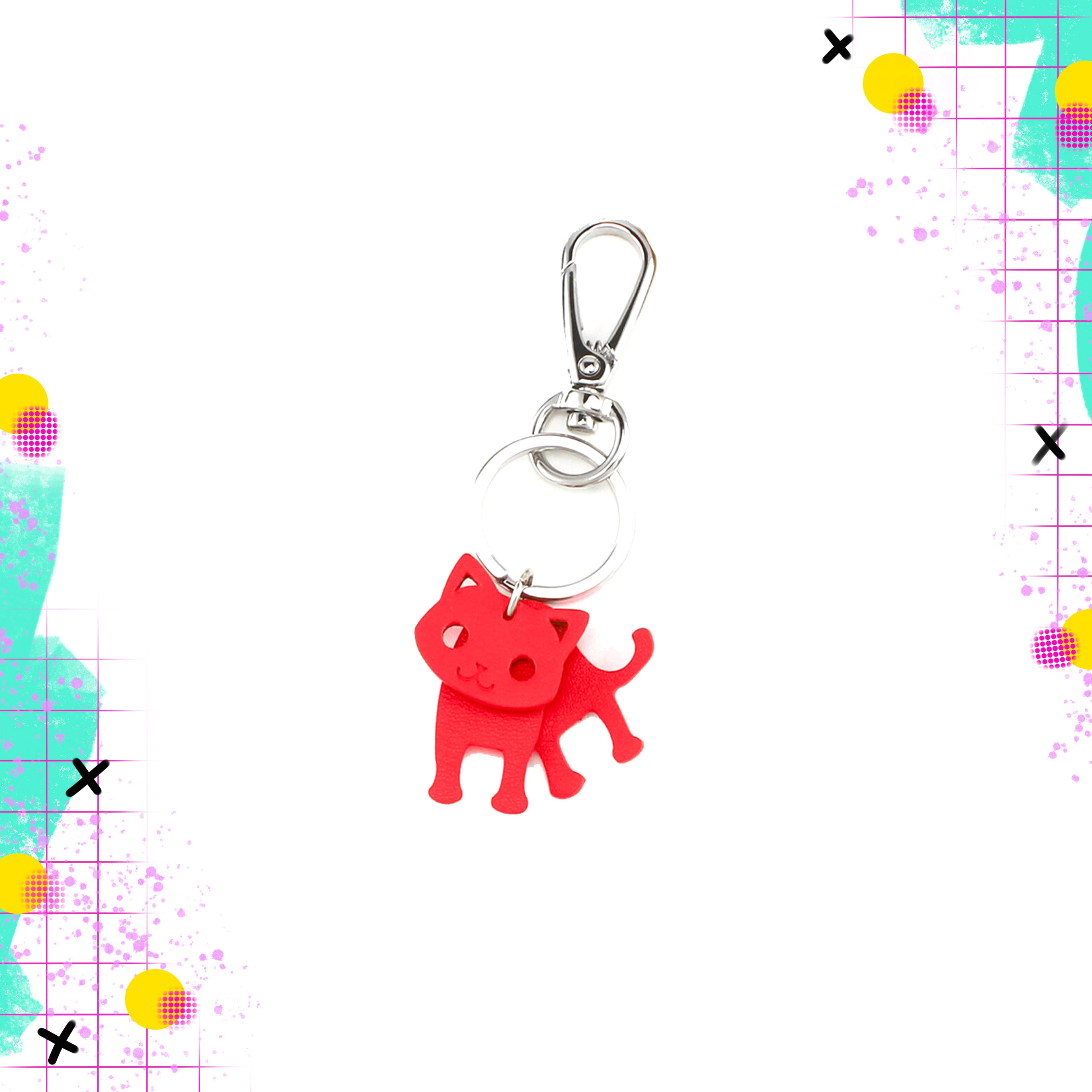 TT | Keyring red cat