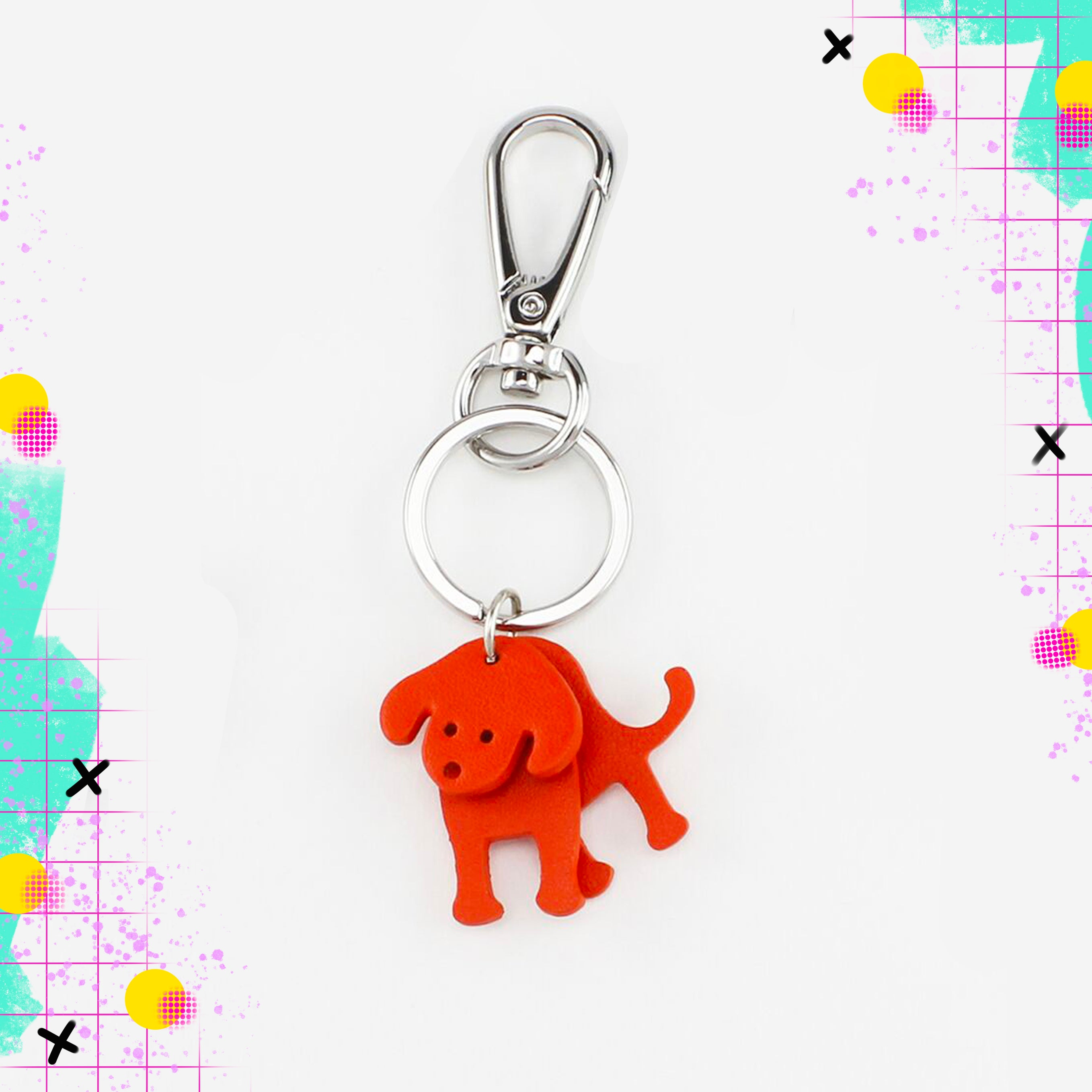 TT | Keyring red dog