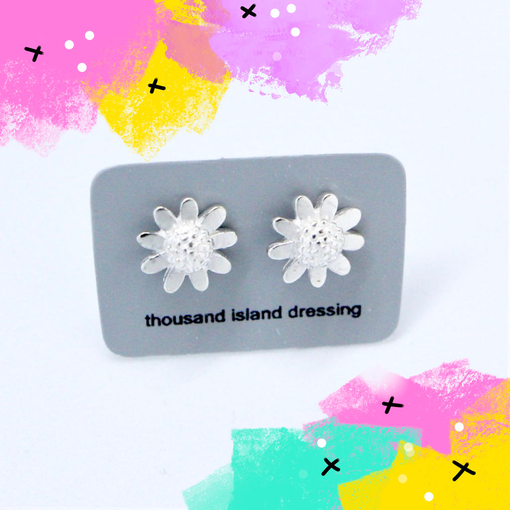 TID mini sunflower studs