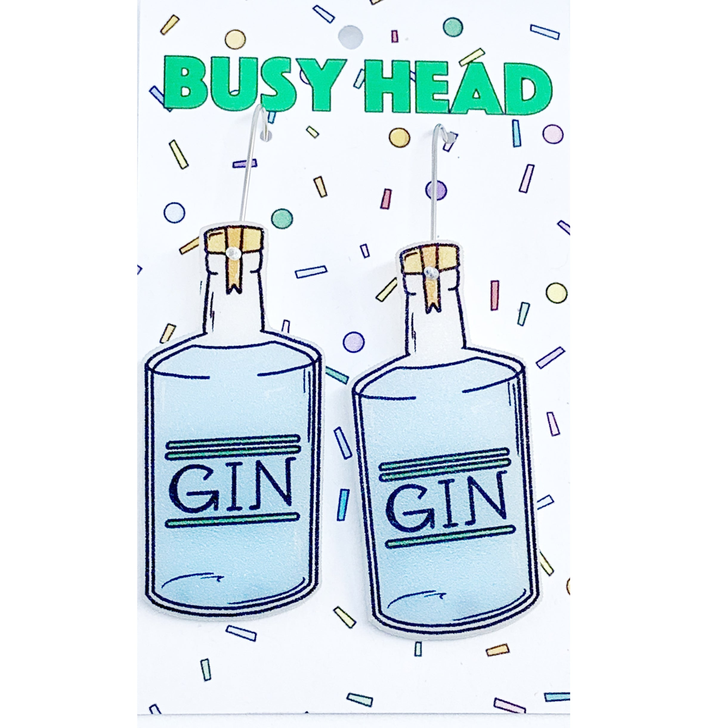 Busy Head Gin Bottles