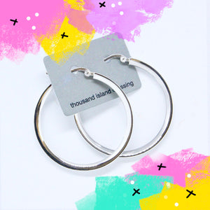 TID Flat edge hoop 40mm