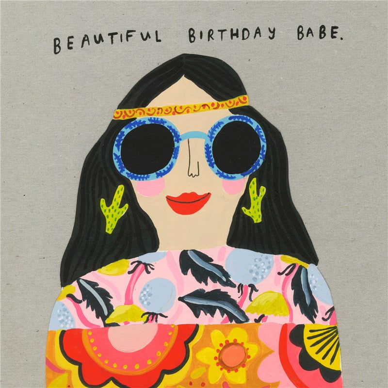 Sooshichacha Greeting Card | Beautiful Babe