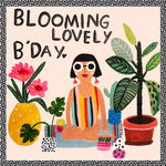 Sooshichacha Greeting Card | Blooming Lovely B'Day