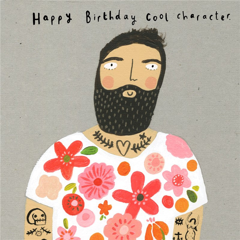 Sooshichacha Greeting Card | Cool Character