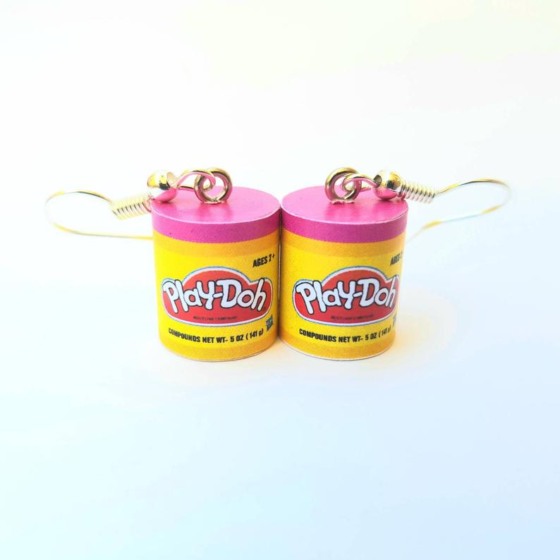 Cheeky Little Monkeys - Playdoh Earrings