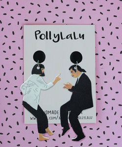 Pollylalu Pulp Fiction Dangles
