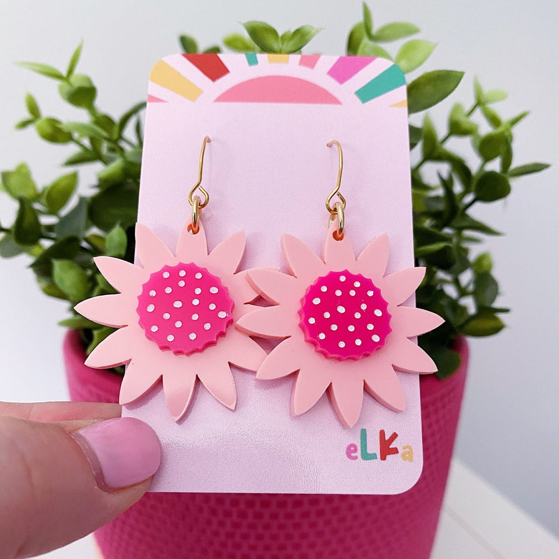 Elka | Gerbera Earrings