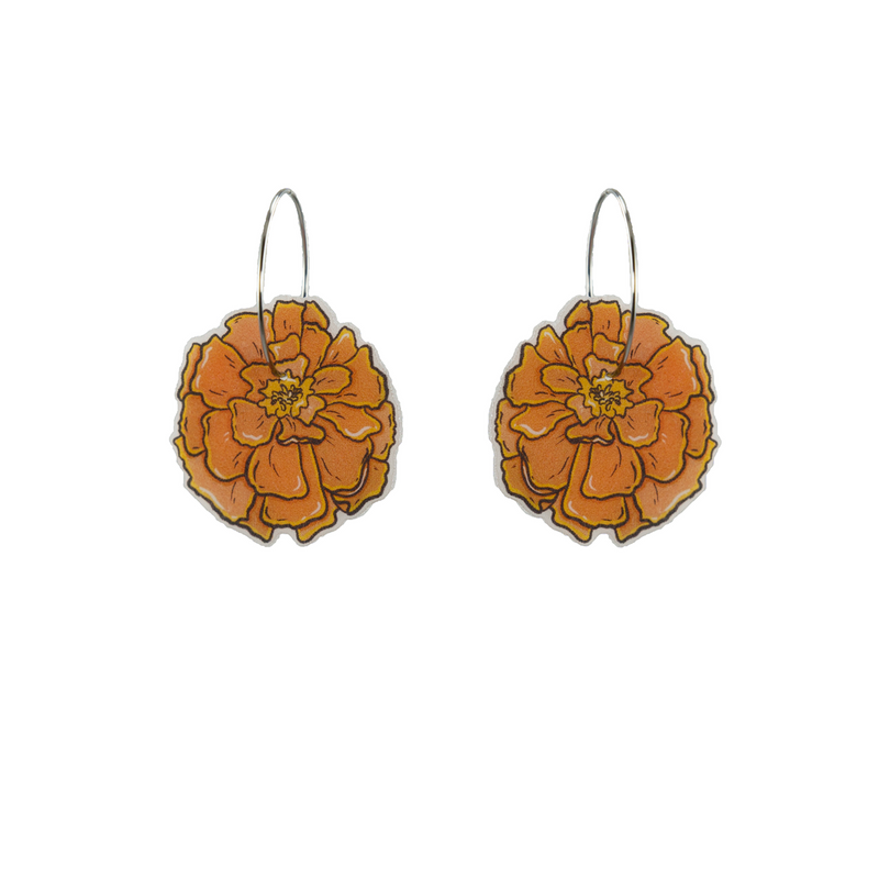 Busy Head | Marigold Hoops