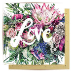 Mini Greeting Card | Love Bouquet