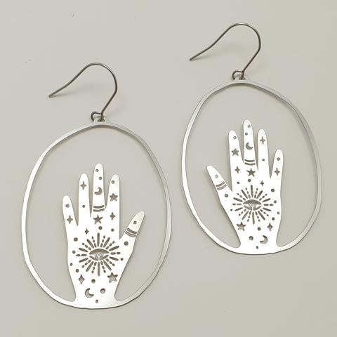DENZ Magic Hands Dangles | Silver