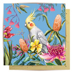 La La Land Greeting Card | Cockatiel Paradiso