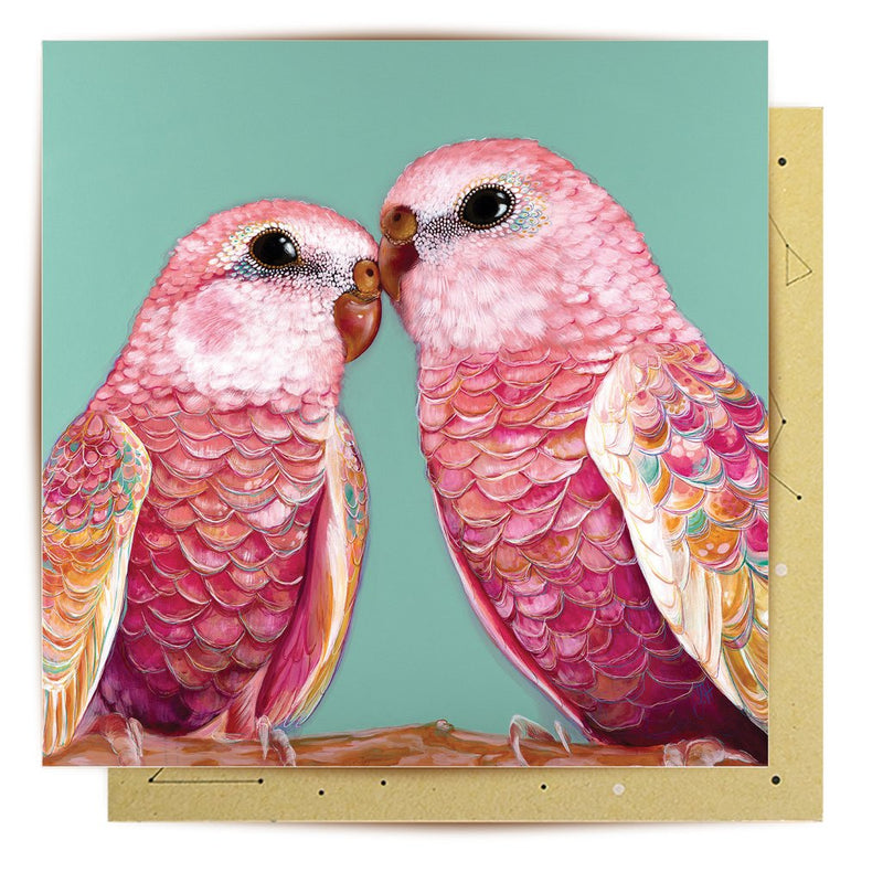 La La Land Greeting Card | Orville & Wilbur