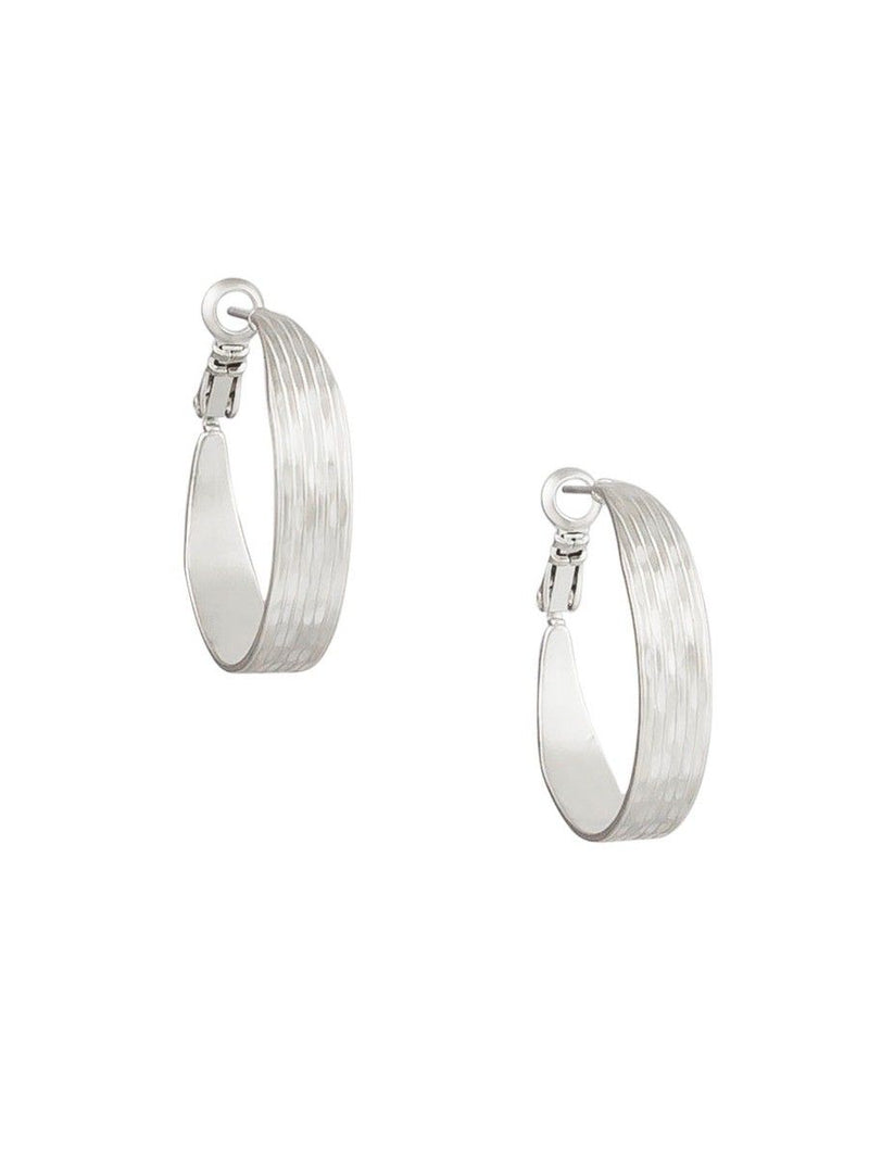 Tiger Tree Grooved hoops | silver