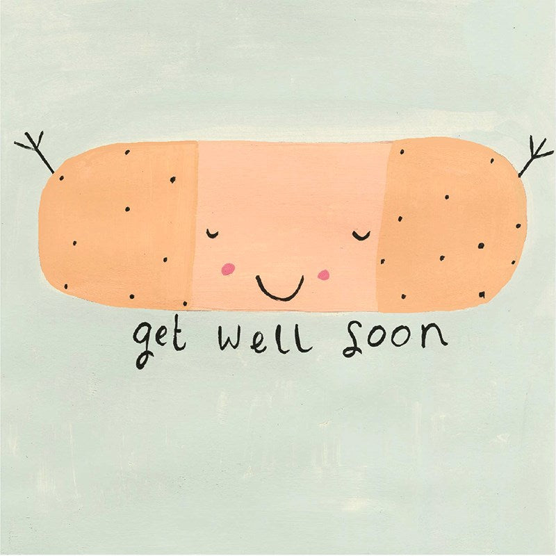 Sooshichacha Greeting Card | Get Well Soon