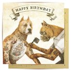 La La Land Greeting Card Tattoo Dogs