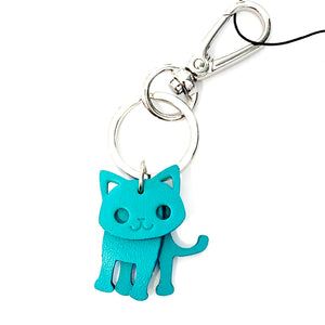 TT | Keyring teal cat