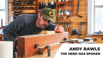 Andy Rawls on Woodworking and Staying Motivated in the State of Now. Episode 2