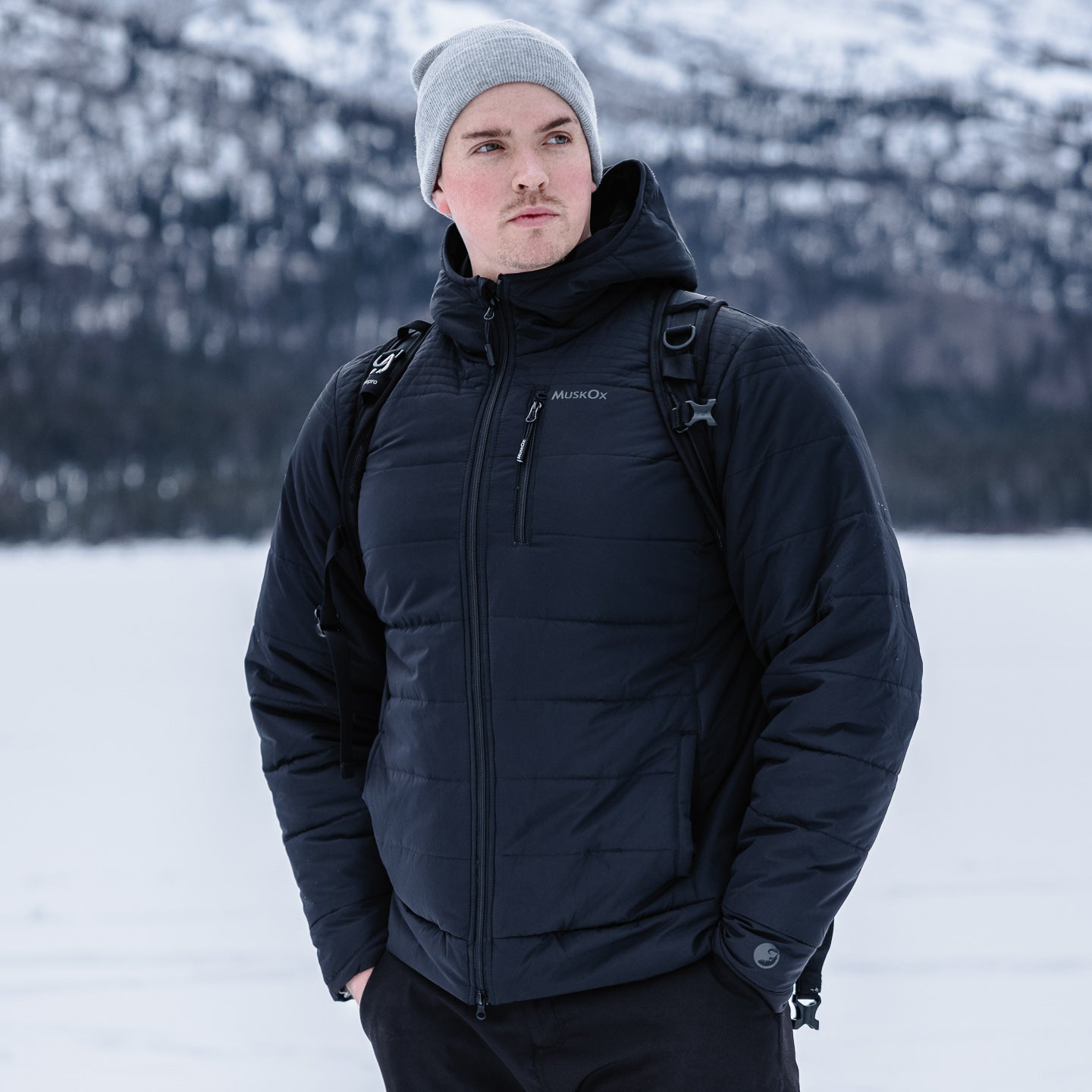 Photo taken by NickByNorthwest. MuskOx Insulated Wrangell Puffer Jacket. Performance Men's Outerwear by MuskOx Men's Outdoor Apparel. Lab Certified Insulated Jacket to keep you warm in negative conditions.