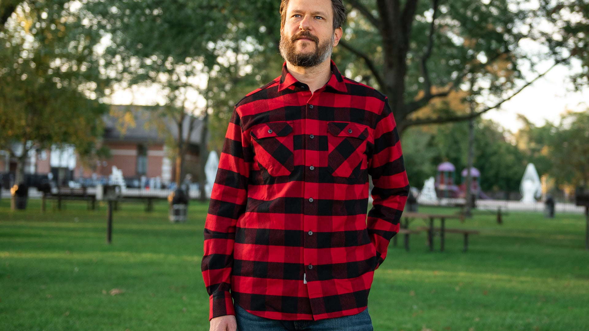 MuskOx Men's Apparel Red Flannel