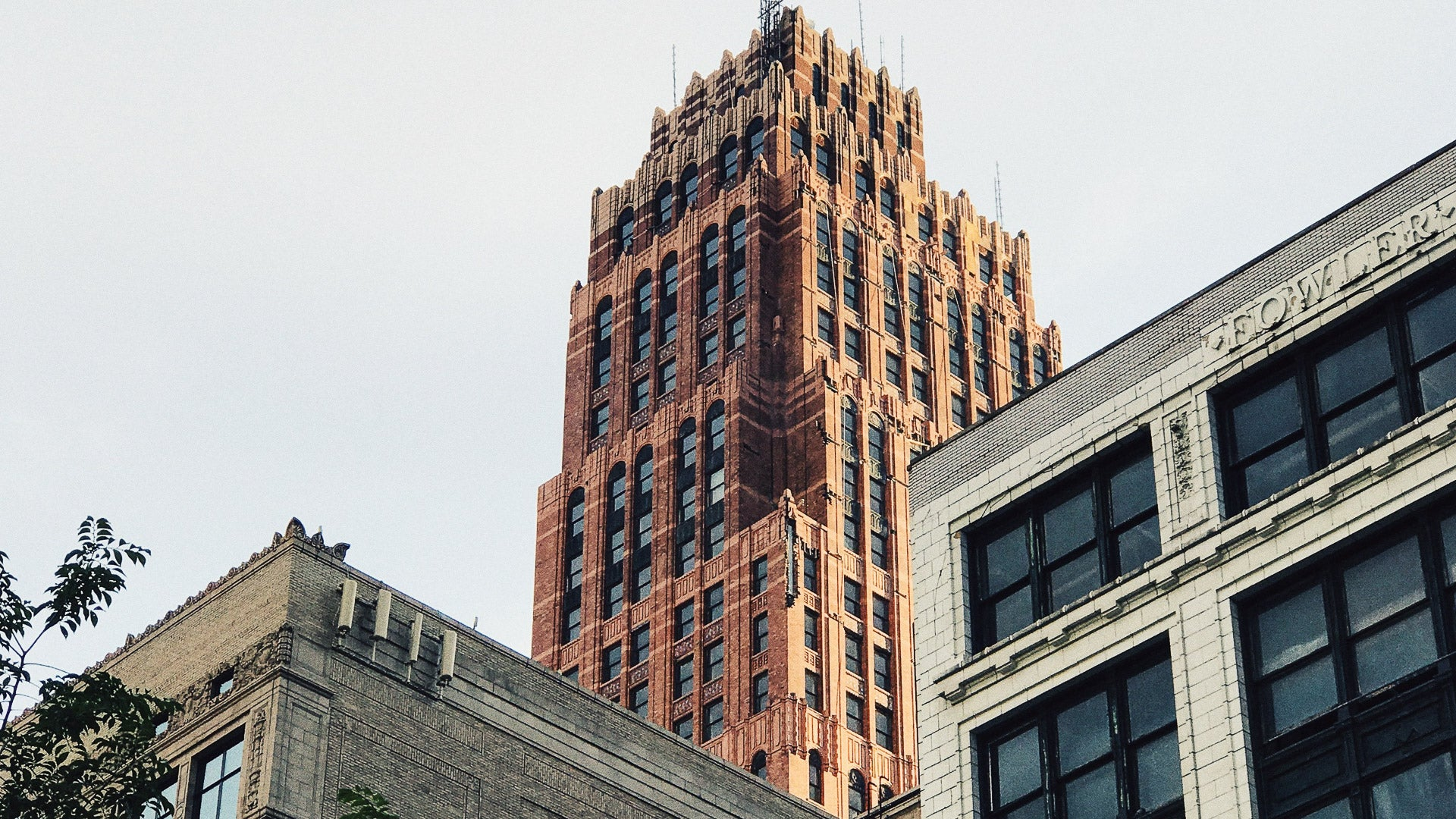 Architecture in Downtown Detroit