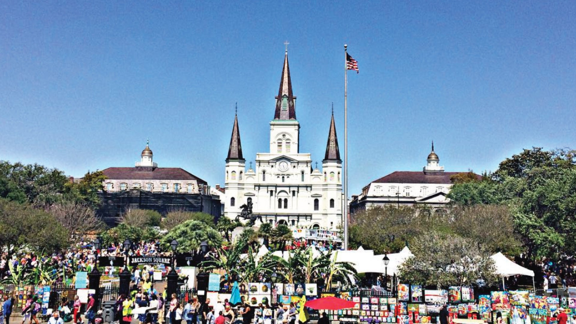 MuskOx Men's Apparel Summer and Outdoor Festival Guide. Photo of French Quarter Festival by atravelingfox.