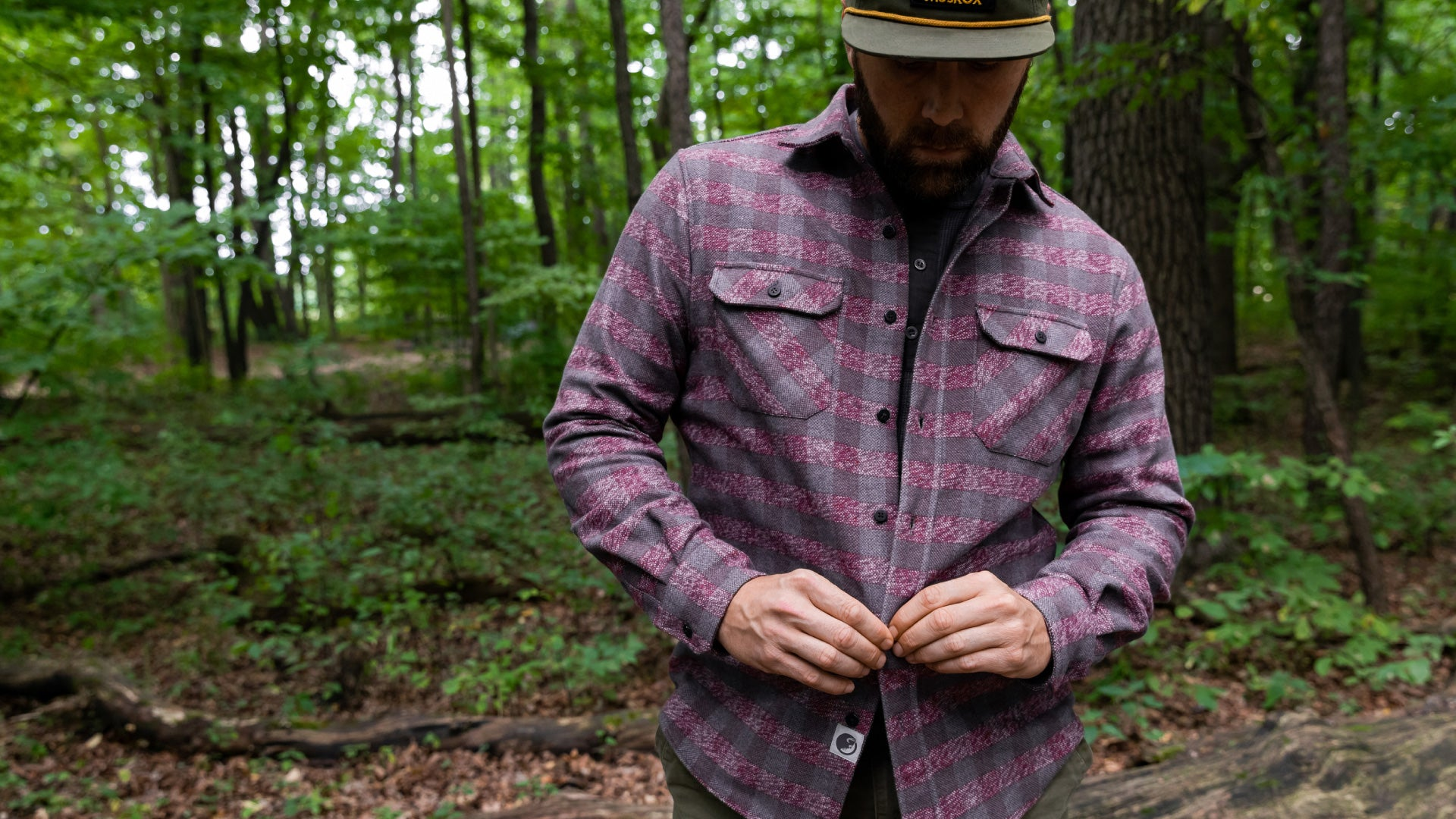 The Grand Flannel By MuskOx Apparel, Heavyweight Flannel Shirt, Comfortable Flannel Shirt By MuskOx Clothing