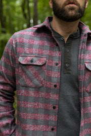 MuskOx-Apparel-Flannel-Burgundy