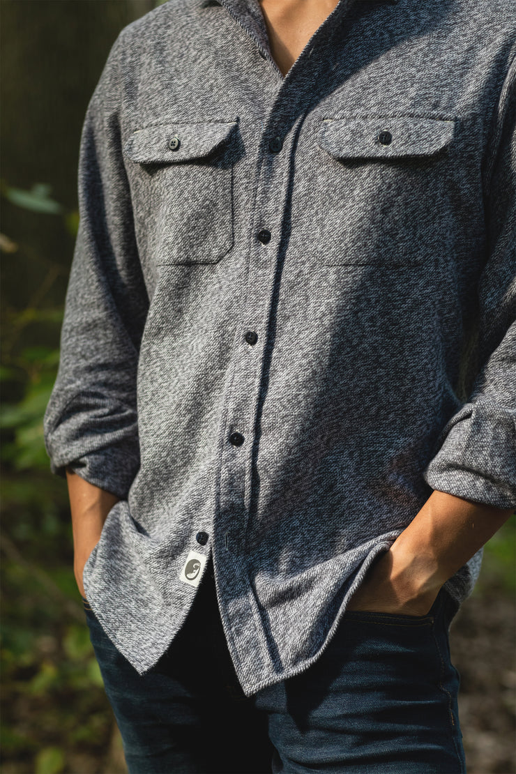 The Grand Flannel, Steel Grey