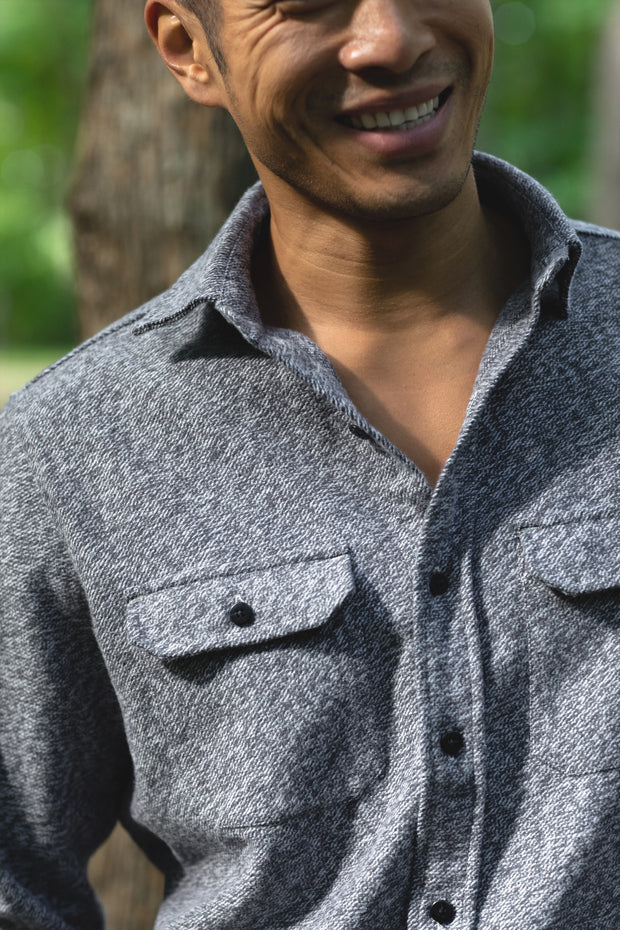 MuskOx-Clothing-Flannel-Steel-Grey