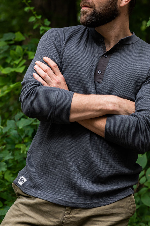 MuskOx-Apparel-Henley-Charcoal