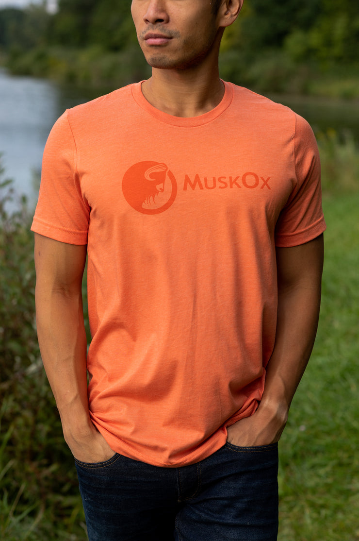 MuskOx-Apparel-Tee-Shirt-Orange