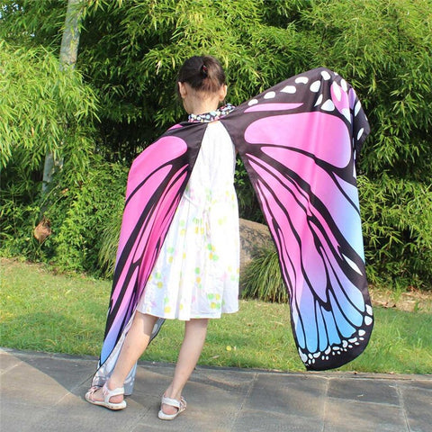 Butterfly Wings Scarf for Kids