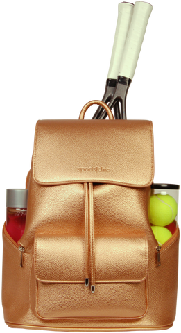 SportsChic Women's Vegan Maxi Backpack