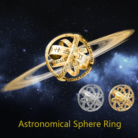 Astronomical Sphere Ball Rings