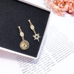 Asymmetric Stud Earrings
