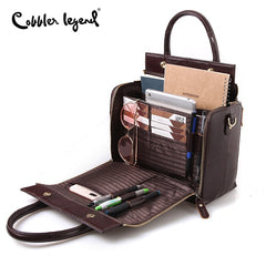 Women's Multi-functional Leather Handbag-Andari Jewelry and Accessories-Andari Jewelry and Accessories