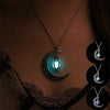 Image of Vintage-Luminous-Moon-Necklace