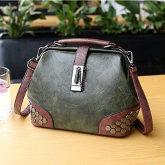 Women's Leather Doctor Handbag
