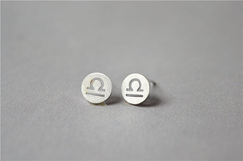 Zodiac-Libra-Earrings