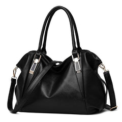 Women's Leather Shoulder Handbag