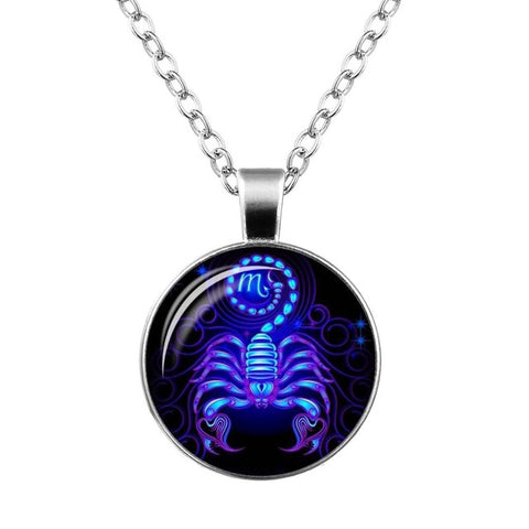 Galaxy Constellation Design Zodiac Pendant