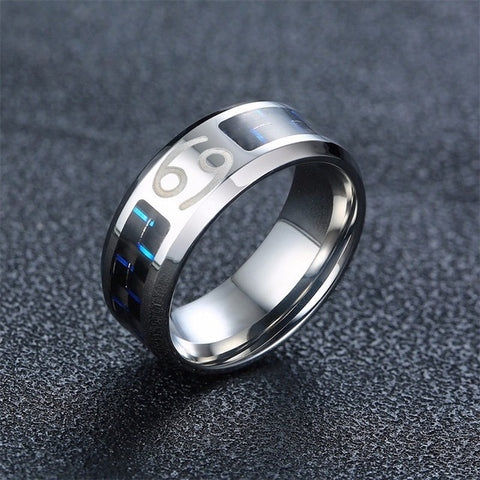Men's Vintage Zodiac Ring