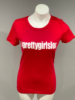 Red #PGL Tee